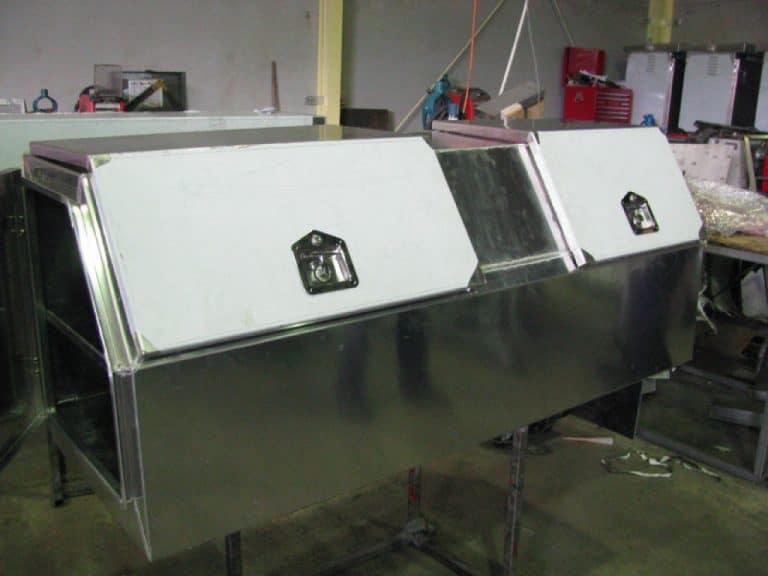 Tradies' Toolboxes Large tool cabnet - Newcastle Sheet Metal Fabrication - Attwoods Sheetmetal