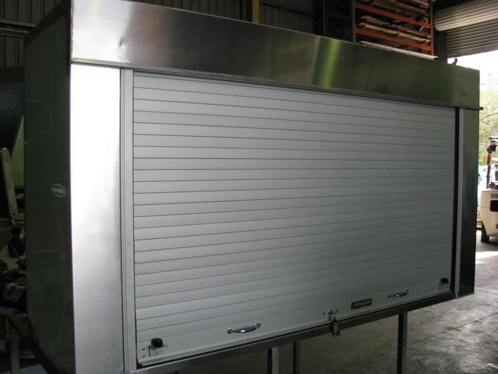 Rollerdoor toolbox - Newcastle Sheet Metal Fabrication - Attwoods Sheetmetal