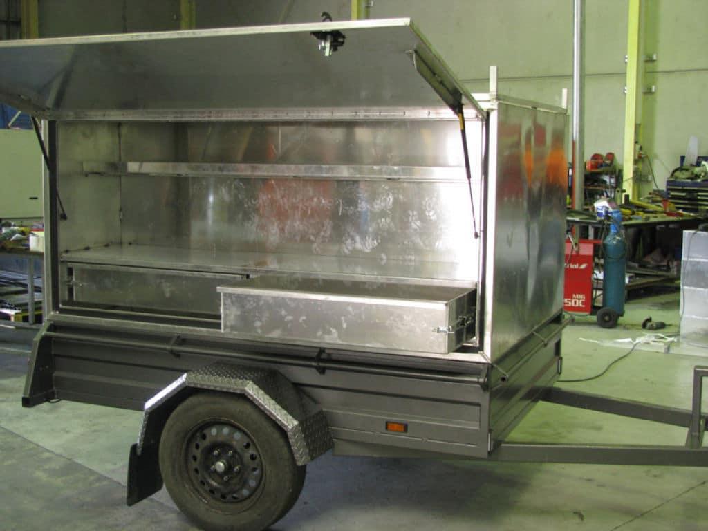 Two wheel - Newcastle Sheet Metal Fabrication - Attwoods Sheetmetal