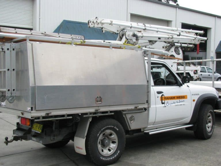 stainless steel ute body