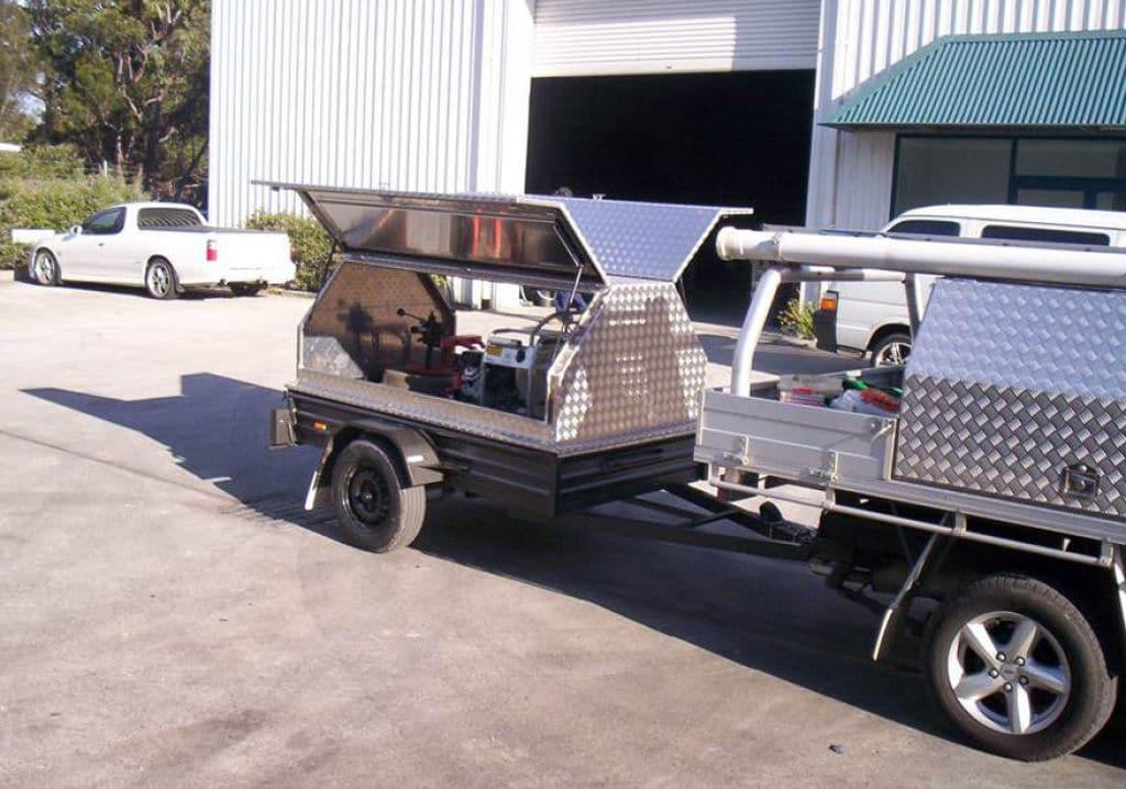 Steel trailer - Newcastle Sheet Metal Fabrication - Attwoods Sheetmetal