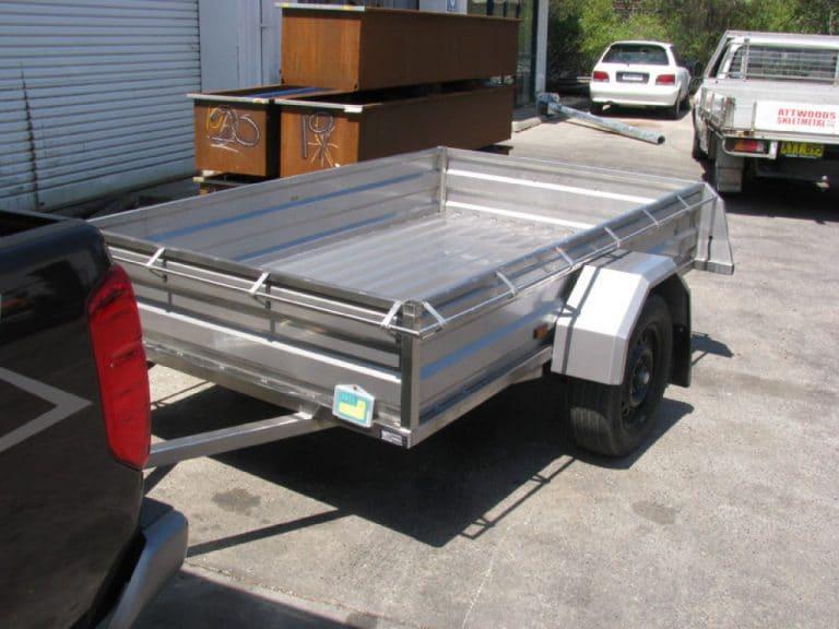 trailer 2 wheel
